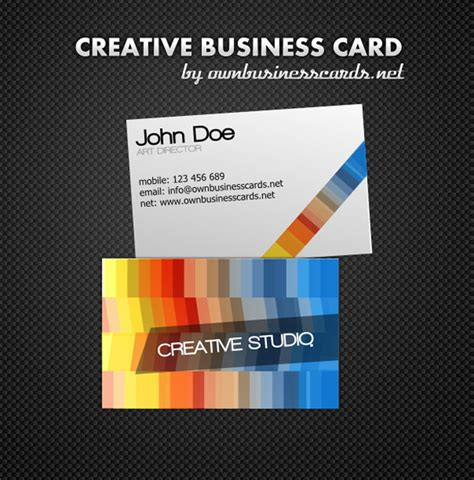 pdf business card template 20 free new business card templates for 2012 design