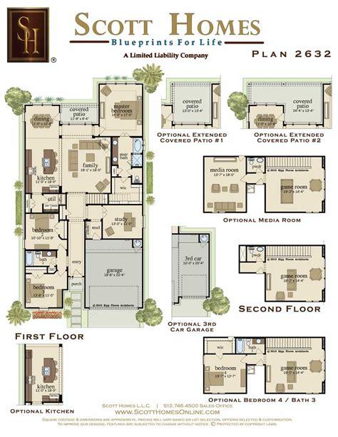 Scott Homes Plan 2185 | scott homes 1124 enclave way