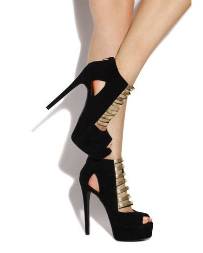 black and gold high heels trendsepatupria black and gold platform heels images