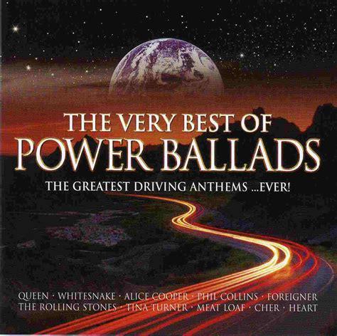 best ballads covers box sk best power ballads front back cd