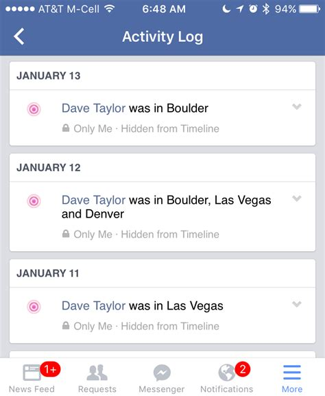 stop facebook  tracking  location  dave taylor