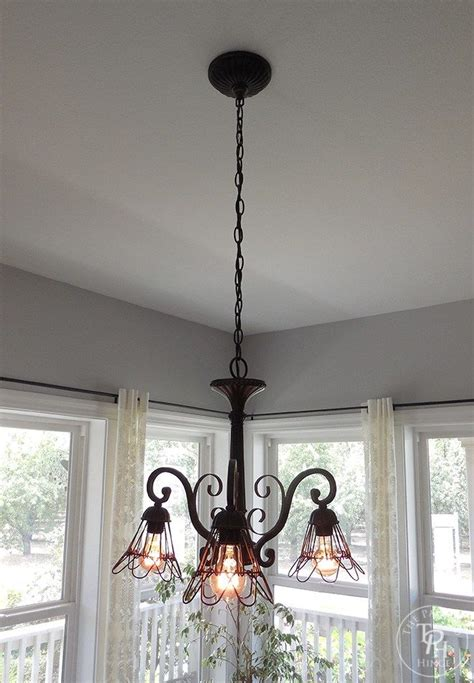 Farmhouse Style Chandelier How To Makeover A Chandelier In Farmhouse Style Farmhouse Style Chandeliers And Diy Ideas