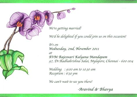 Sle Wedding Invitations Text by Wedding Invitation Email To Colleagues Wedding