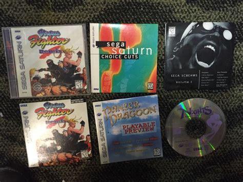 sega saturn 1994 1994 sega saturn console with 2 controllers 14