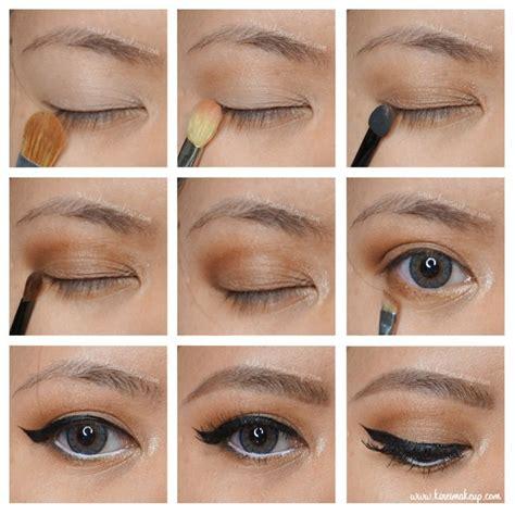Eyeshadow Wardah Brown l oreal la palette 1 tutorial 1 kirei makeup my