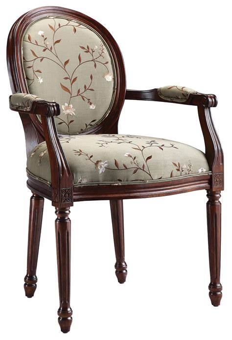 light green accent chairs fabric accent chair in light green floral from steinworld
