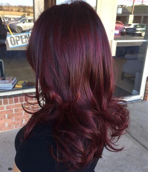 burgundy brown hair color 50 shades of burgundy hair color maroon wine
