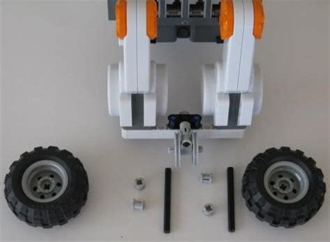 lego robot tutorial build build robot add front wheel free lego nxt mindstorms video
