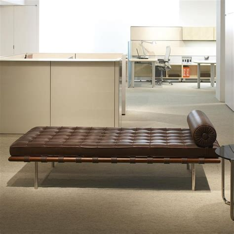 barcelona liege barcelona mies der rohe liege daybed knoll