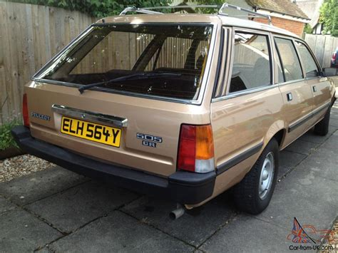 warwick wright peugeot peugeot 505 7 seater estate wonderful condition