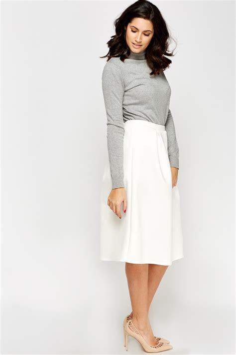 high waist midi skirt just 163 5