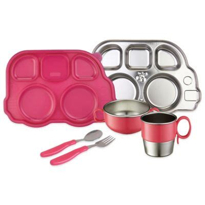 Inno Baby Din Din Smart Stainless Divided Plate 850587003877 upc innobaby din smart stainless mealtime