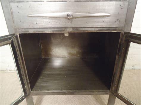 Vintage Industrial Cabinets by Vintage Industrial Hospital Cabinet Restored At 1stdibs