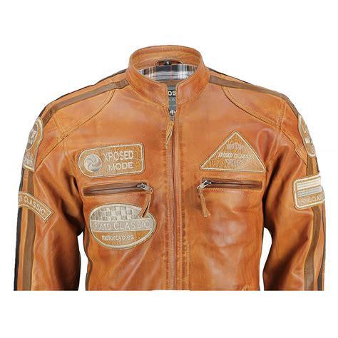 racing biker jacket mens real soft leather fitted racing biker jacket vintage