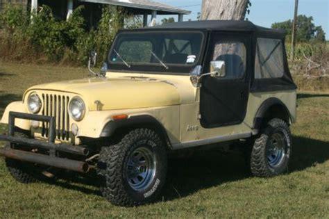 82 Jeep Cj7 Buy Used 1982 Jeep Cj7 82 Cj 7 In Clayton Michigan