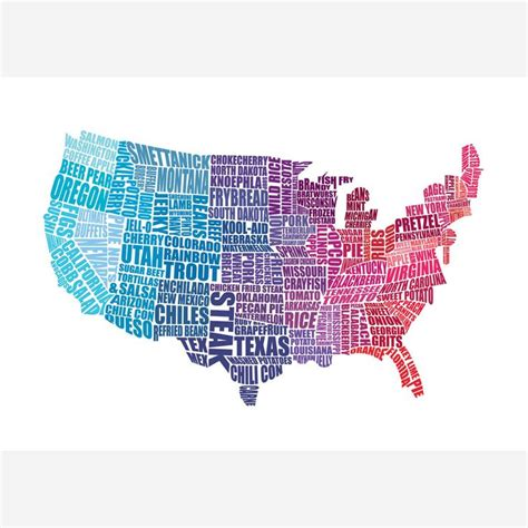 cool usa map 17 best images about creative interesting usa maps on