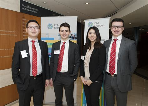 Mba Analytics Programs Montreal by Bcom Students Win Montreal Cfa Valuation Challenge