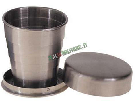 bicchieri pieghevoli bicchiere pieghevole e tascabile in acciaio piccolo