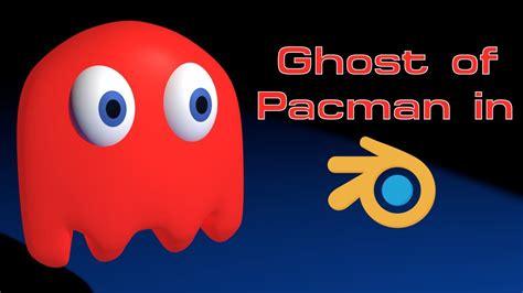 pacman ghost colors ghost of pacman pacman blender speed modeling