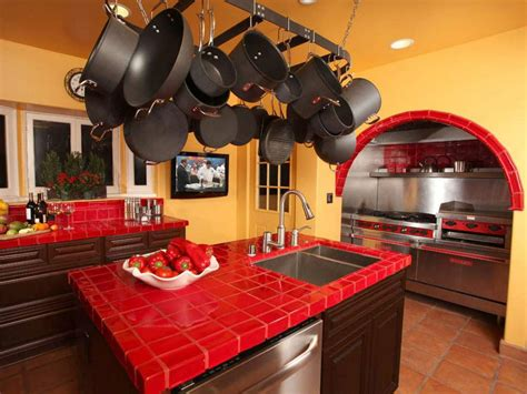 red and yellow kitchen ideas best colors to paint a kitchen pictures ideas from hgtv