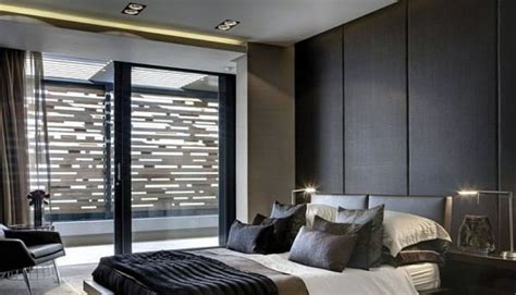 modern main bedroom designs modern main bedroom with wall wall leather panels