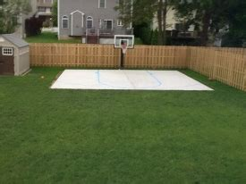 Basketball Court In Backyard Cost Pictures Of Basketball Courts In The Backyard