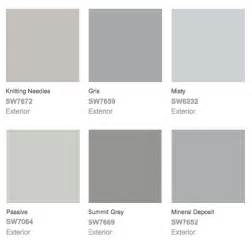 Gray Paint Swatches | exterior better remade