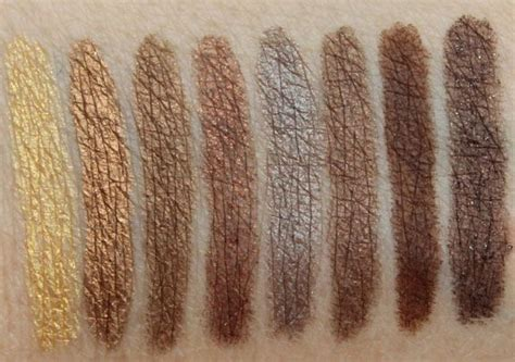 24 7 Glide On Eye Pencil Smog decay 24 7 glide on eye pencil swatches 3 goldmine