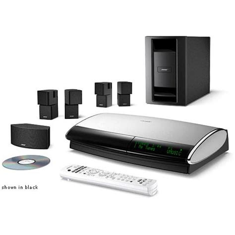 bose lifestyle  iii home theater system white  bh