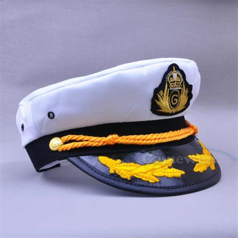 yacht boat captain hat new yacht captain skipper sailor boat cotton hat cap