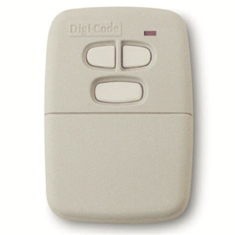 10 Pin Garage Door Opener by Digi Code 5030 Multi Code Compatible 3 Button 10 Code