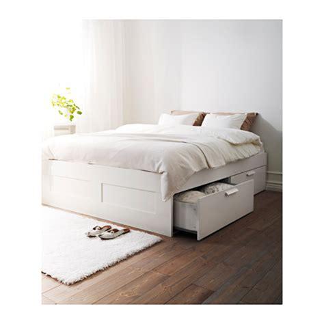 funktionsbett 160x200 brimnes bed frame with storage white lur 246 y standard