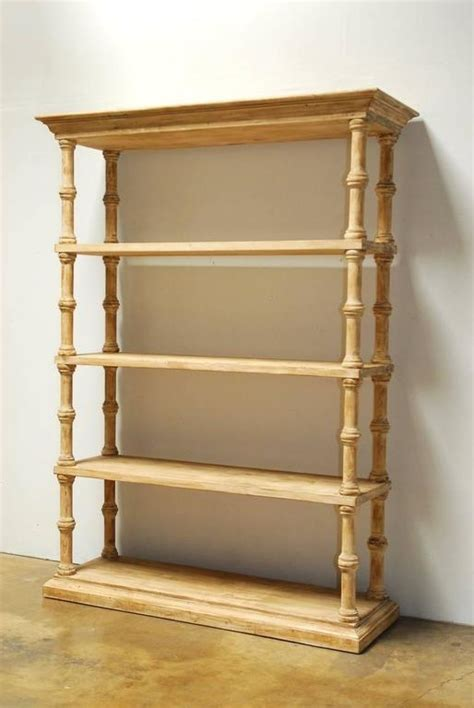 etagere 8 cases but rustic washed pine four shelf etagere bookcase for sale at