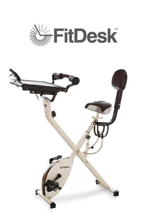 fitdesk 2 0 desk exercise bike with