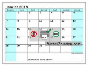 calendrier janvier 2018 224 imprimer quot laurentia d quot