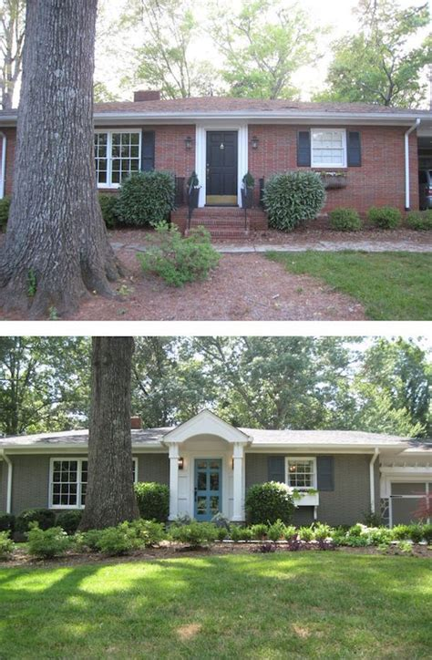 Rambler House Vs Ranch House by Curb Appeal 8 Stunning Before Amp After Home Updates