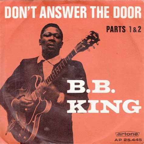 Answer The Door by Don T Answer The Door Live B B King Free Mp3