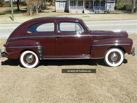 Ford Deluxe by 1947 Ford Deluxe Sedan Frame Restro Pics