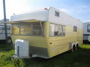 vintage rv restored 1971 layton travel trailer
