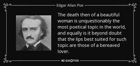 edgar allan poe biography by milton meltzer edgar allan poe quote the death then of a beautiful woman
