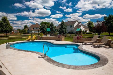 Backyard Pools Ohio Photos Of Our Pools Mossing Pools Custom Swimming
