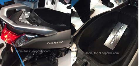 Tas Motor Nmax intip bagasi yamaha nmax luas bro en sis gilamotor