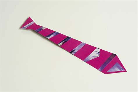 How To Make A Tie With Paper - made by joel 187 diy paper necktie for