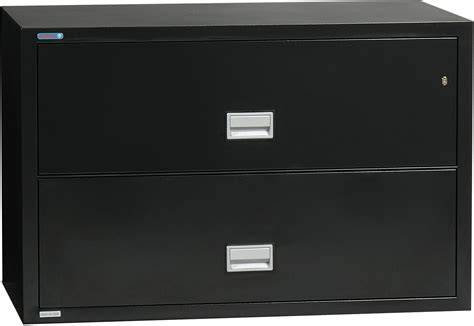 fireproof 2 drawer lateral file cabinet lat2w44 lateral 44 inch 2 drawer fireproof file