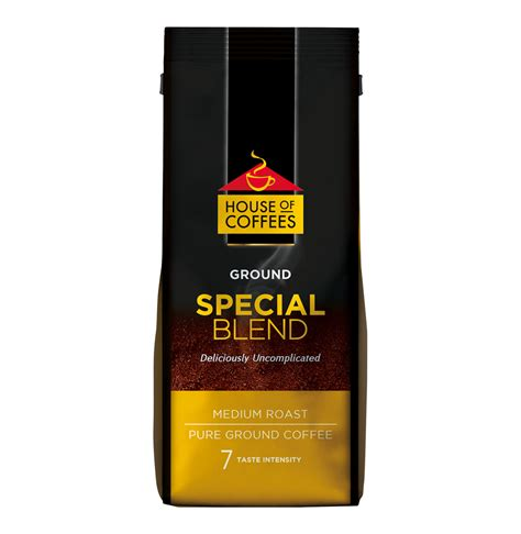 House Of Coffee by House Of Coffees Ground Coffee Special Blend 10 X 500g