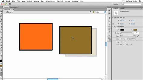 flash tutorial download pdf adobe flash cs6 tutorial understanding the object