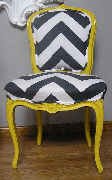 Yellow Grey Chair Design Elements Grey White Chevron Concepts And