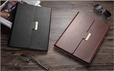 leather black surface pro   case covers   storage