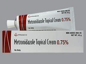 Flagyl Metronidazole 0 5mg metronidazole topical 0 75 rosacea