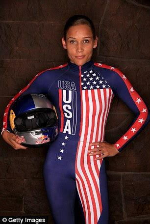 hot female bobsledders lolo jones and team usa bobsledders sweep medals at women